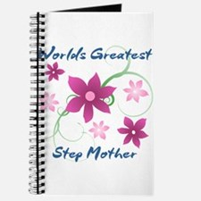 World's Greatest Step Mother (Flowery) Journal