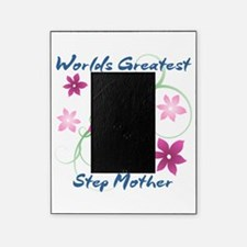 World's Greatest Step Mother (Flower Picture Frame