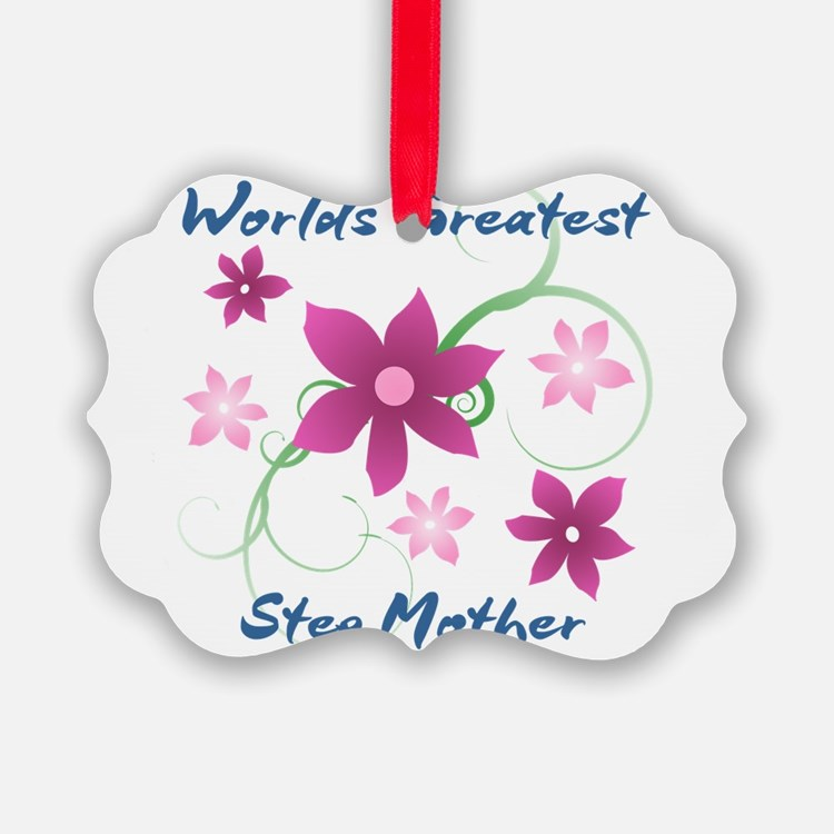 World's Greatest Step Mother (Flo Ornament