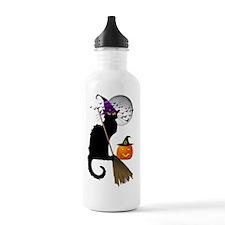 Le Chat Noir - Hallowe Sports Water Bottle