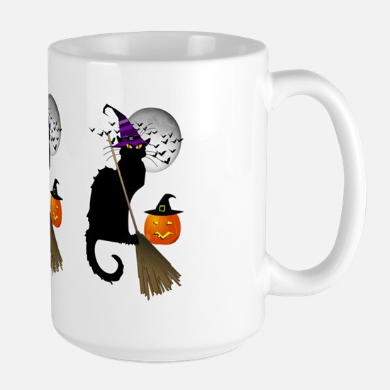 Le Chat Noir - Halloween Witch Large Mug