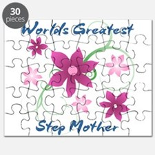 World's Greatest Step Mother (Flowery) Puzzle