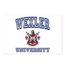 WEXLER University Postcards (Package of 8)