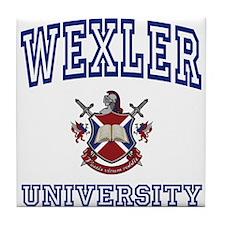 WEXLER University Tile Coaster
