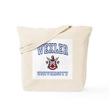 WEXLER University Tote Bag