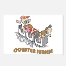 Roller Coaster Junkie Postcards (Package of 8)