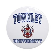 TOWNLEY University Ornament (Round)