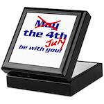 Get 'The Force of July' Keepsake Box