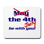 Get 'The Force of July' Mousepad