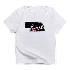 Nebraska Love Infant T-Shirt