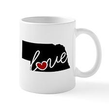 Nebraska Love Mug