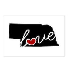 Nebraska Love Postcards (Package of 8)