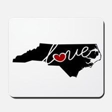 North Carolina Love Mousepad