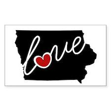 Iowa Love Decal
