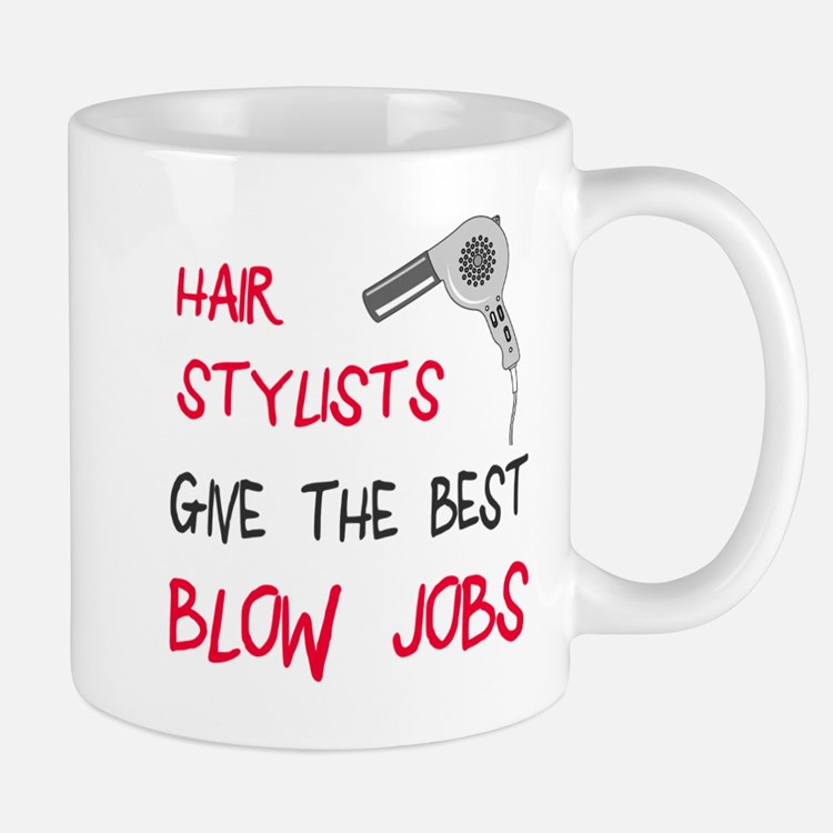 Hair stylists blow jobs Mug