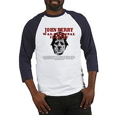 John Kerry War Criminal Baseball Jersey