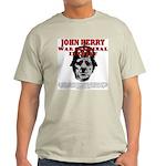 John Kerry War Criminal Ash Grey T-Shirt
