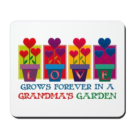 Grandma's Garden Mousepad
