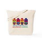 Grandma's Garden Tote Bag