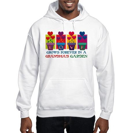 Grandma's Garden Hooded Sweatshirt