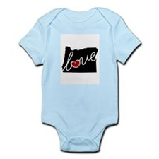 Oregon Love Infant Bodysuit