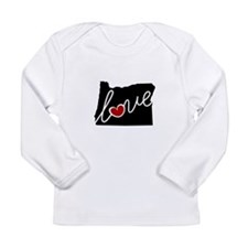 Oregon Love Long Sleeve Infant T-Shirt