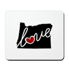 Oregon Love Mousepad