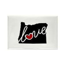 Oregon Love Rectangle Magnet (10 pack)
