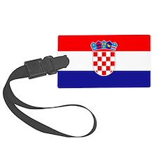 Croatia Flag Luggage Tag