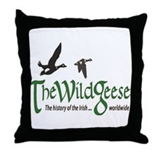 logo-bg Throw Pillow