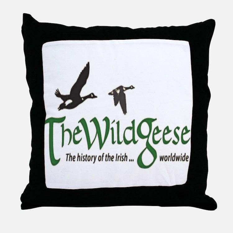 logo-bg Throw Pillow