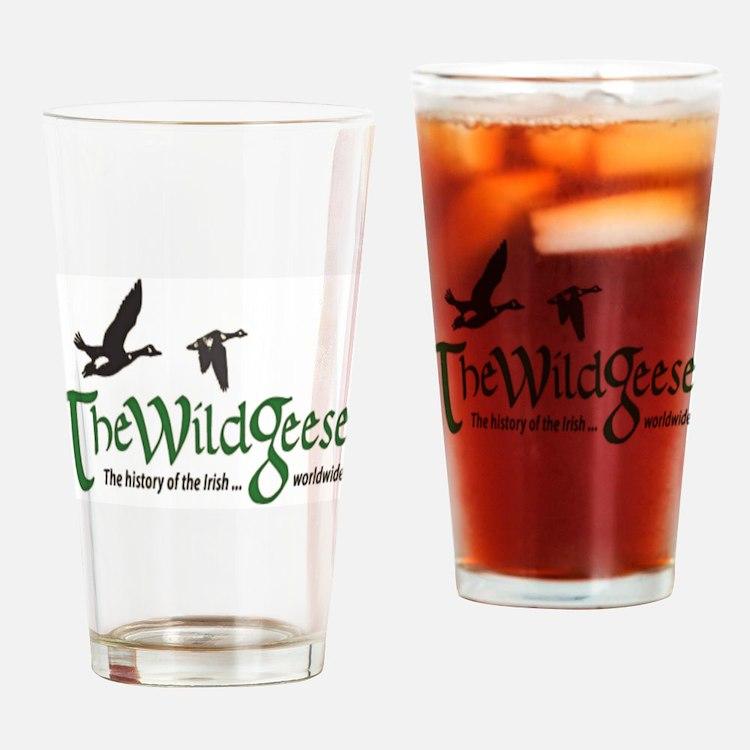 logo-bg Drinking Glass