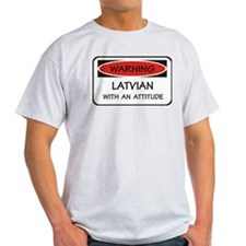 Attitude Latvian T-Shirt