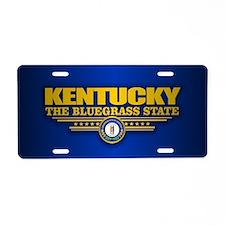 Kentucky (v15) Aluminum License Plate