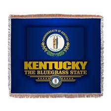 Kentucky (v15) Woven Blanket