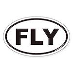 FLY Euro Oval Sticker