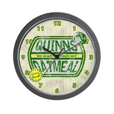 Quinn's Oatmeal Wall Clock