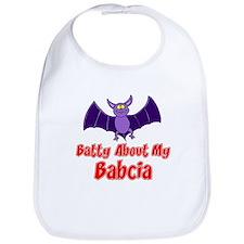 Batty About My Babcia Bib