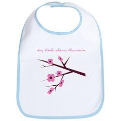 My Little Cherry Blossom Bib