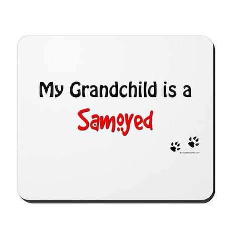 Samoyed Grandchild Mousepad