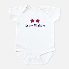 It's Our Birthday Stars - Infant Bodysuit