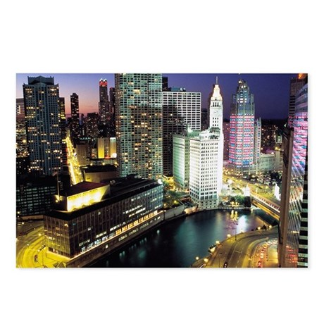 Chicago Photos Postcards (Package of 8)