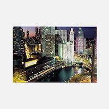 Chicago Photos Rectangle Magnet