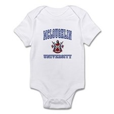 MCLOUGHLIN University Infant Bodysuit