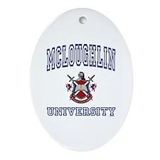 MCLOUGHLIN University Oval Ornament