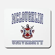 MCLOUGHLIN University Mousepad