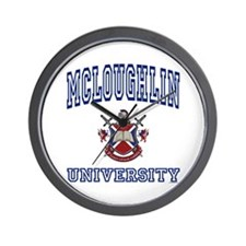 MCLOUGHLIN University Wall Clock