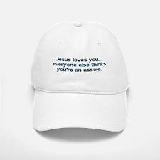 Jesus loves you Baseball Baseball Cap