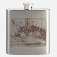 Homecoming Homers Flask