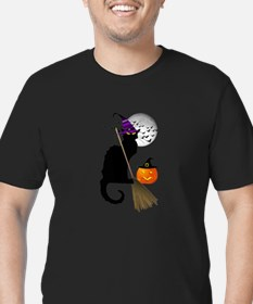 Le Chat Noir - Halloween Witch T-Shirt